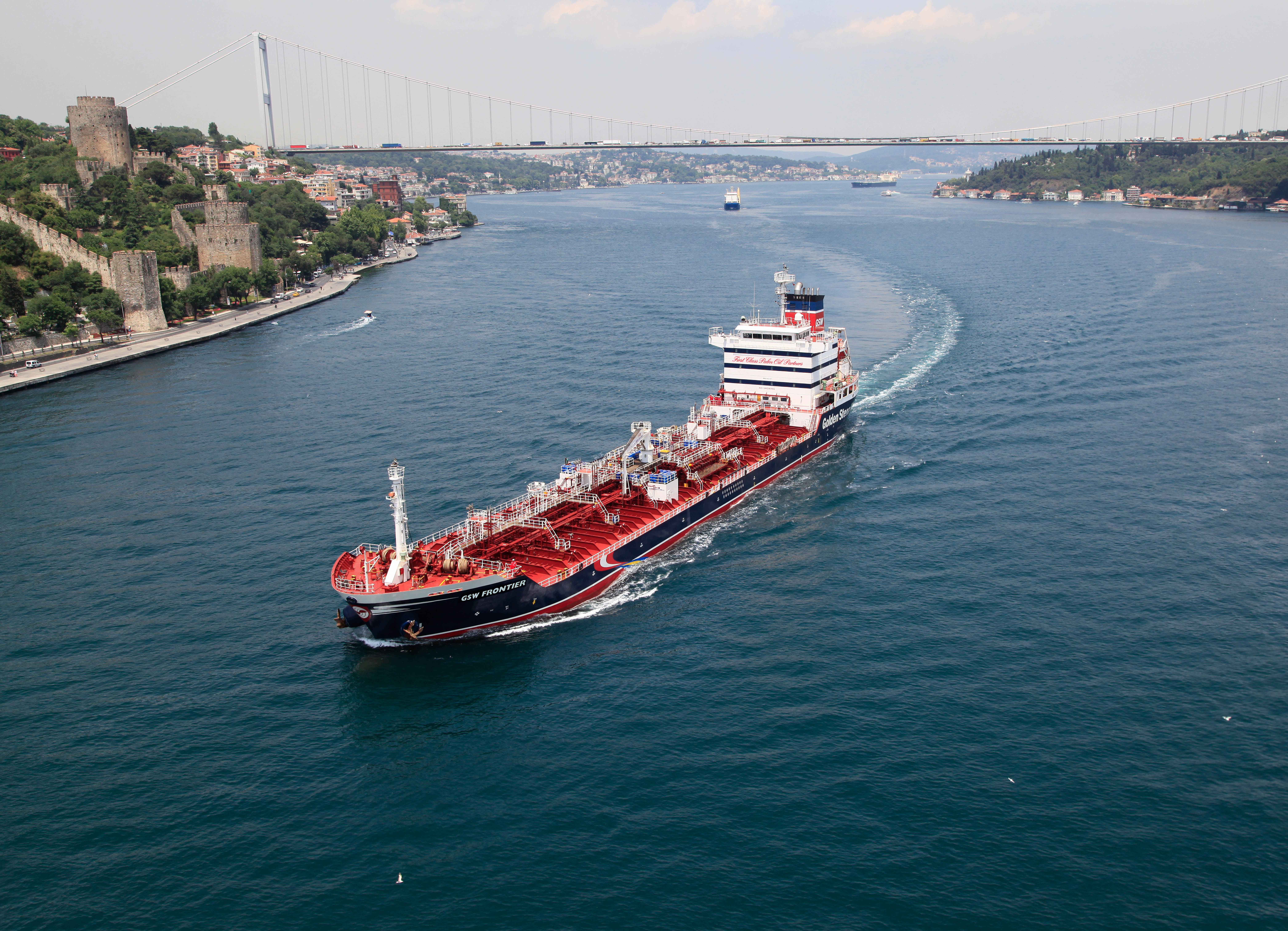 Stena Bulk in partnership with Bay Crest Management for